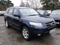 USED 2007 07 HYUNDAI SANTA FE 2.2 CDX PLUS CRTD 5d AUTO 153 BHP ****Great Value family car with excellent service history, drives superbly****
