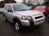 2003 LAND ROVER FREELANDER 2.0 TD4 SE STATION WAGON 5d 110 BHP £3000.00