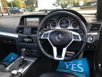 USED 2013 62 MERCEDES-BENZ E CLASS 3.0 CDI BlueEFFICIENCY Sport Cabriolet G-Tronic 2dr