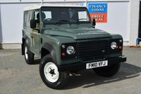 USED 2010 10 LAND ROVER DEFENDER 90 2.4 TD 3dr Hard Top Incredible Low Mileage Example Stunning Original Condition in Classic LR Keswick Green an ideal Investment Opportunity You will not find a better example anywhere ORIGINAL UNMARKED CONDITION