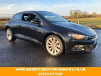 USED 2009 58 VOLKSWAGEN SCIROCCO 2.0 GT 3d 200 BHP LEATHER UPHOLSTERY,SERVICE HISTORY