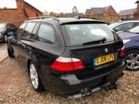 USED 2008 08 BMW 5 SERIES 3.0 525i SE Touring 5dr £8000 OF FACTORY FITTED EXTRAS