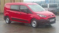 2014 FORD TRANSIT CONNECT 1.6 230 DCB 1d 94 BHP 5 SEATER CREW VAN  1 OWNER F/S/H 2 KEYS 12 MONTHS WARRANTY COVER £300 CASH BACK IN DECEMBER £7990.00