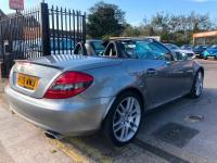 USED 2009 09 MERCEDES-BENZ SLK 1.8 SLK200 Kompressor 2dr ZERO DEPOSIT FINANCE ARRANGED.