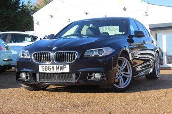 2014 BMW 5 SERIES 2.0 520D M SPORT 4d AUTO 188 BHP £16450.00
