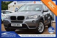 USED 2014 14 BMW X3 2.0 XDRIVE20D SE 5d AUTO 181 BHP