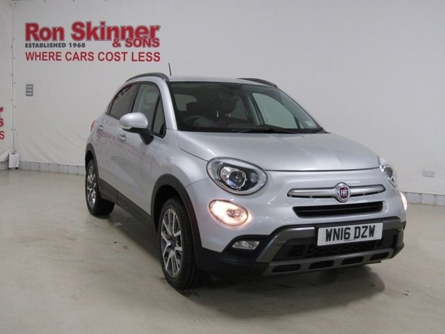 View our 2016 16 FIAT 500X 1.4 MULTIAIR CROSS PLUS 5d 140 BHP