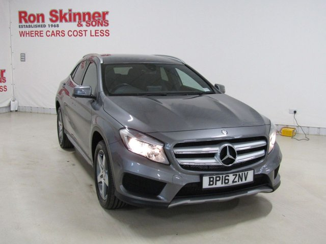 View our 2016 16 MERCEDES-BENZ GLA-CLASS 2.1 GLA 220 D 4MATIC AMG LINE 5d AUTO 174 BHP