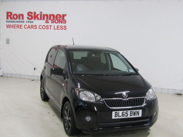 View our 2015 65 SKODA CITIGO 1.0 BLACK EDITION MPI 5d 59 BHP