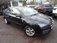 USED 2006 06 FORD FOCUS 1.6 ZETEC CLIMATE 16V 5d AUTOMATIC 101 BHP Very Low Mileage, Minimum 6 months MOT. Automatic. Part Exchange to clear with no warranty however comprehensive RAC warranties can be purchased at cost-price