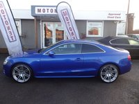 2009 AUDI A5 2.0 TDI S-LINE 2DR DIESEL COUPE 170  BHP £9380.00