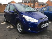 USED 2015 65 FORD B-MAX 1.6 ZETEC 5d AUTO 104 BHP ONLY 8076 MILES! LOW CO2 EMISSIONS, GOOD SPECIFICATION, FULL SERVICE HISTORY, 1 PREVIOUS OWNER, AIR CONDITIONING, PARKING SENSORS.