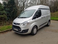 2014 FORD TRANSIT CUSTOM 2.2 310 5d 125 BHP AIR CON HIGH ROOF EXCELLENT CONDITION £8495.00