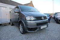 "USED 2014 14 VOLKSWAGEN TRANSPORTER T30 Trendline Kombi 2.0 TDI ( 140 bhp ) Demo + One Owner From New Low Mileage FVWSH 18"" Sportline Alloys + Sportline Front Bumper"