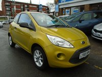 USED 2016 65 FORD KA 1.2 STUDIO PLUS 3d 69 BHP