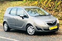 2011 VAUXHALL MERIVA 1.7 EXCLUSIV CDTI 5d AUTO 99 BHP £4895.00