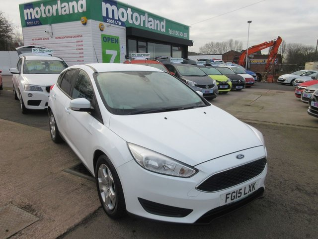 USED 2015 15 FORD FOCUS 1.6 STYLE 5d AUTO 124 BHP ** TEST DRIVE TODAY !! ** 01543 877320 ** FULL SERVICE HISTORY **