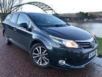 2015 TOYOTA AVENSIS 2.0 D-4D ICON BUSINESS EDITION 5d 124 BHP £8990.00