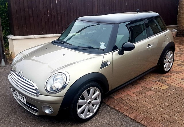 2009 58 MINI HATCH COOPER 1.6 COOPER D 3d 108 BHP CHILLI PACK FULLY LOADED