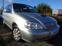 2004 KIA SEDONA 2.9 LS 5d AUTO 142 BHP £1489.00