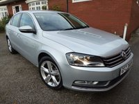 2011 VOLKSWAGEN PASSAT 2.0 SE TDI BLUEMOTION TECHNOLOGY 4d 139 BHP £5350.00