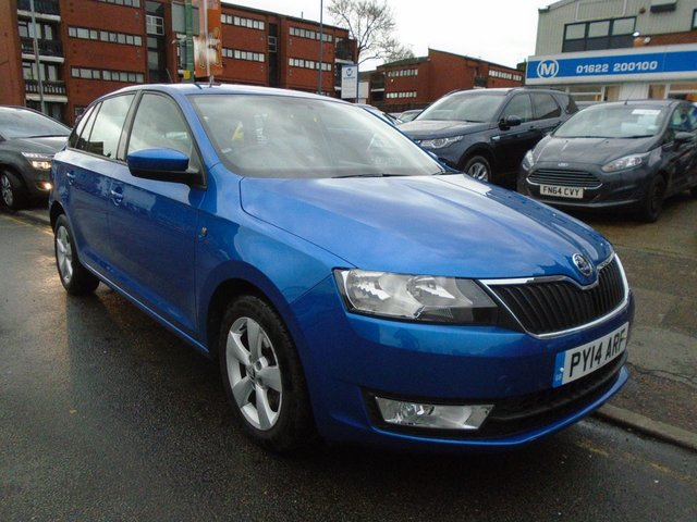 2014 14 SKODA RAPID 1.6 SPACEBACK SE GREENTECH TDI CR 5d 104 BHP