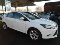 USED 2012 12 FORD FOCUS 1.0 ZETEC 5d 124 BHP SERVICE HISTORY