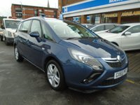 USED 2015 65 VAUXHALL ZAFIRA TOURER 1.4 EXCLUSIV 5d 138 BHP 1 OWNER, ONLY 30,000 MILES