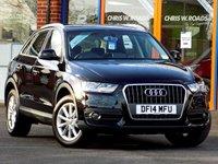 USED 2014 14 AUDI Q3 2.0 TDi SE 5dr (140) ** Full Audi Service History **