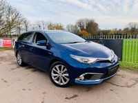 USED 2016 16 TOYOTA AURIS 1.8 VVT-I EXCEL TOURING SPORTS 5d AUTO 99 BHP 1 Owner! Toyota Warranty 2021! Sat Nav! Bluetooth! Rev Cam! DAB!