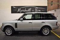USED 2010 10 LAND ROVER RANGE ROVER 3.6 TDV8 VOGUE 5d AUTO 271 BHP STUNNING CONDITION THROUGHOUT - 8 STAMPS TO 85K - LEATHER - NAV - TV - REVERSE CAMERA