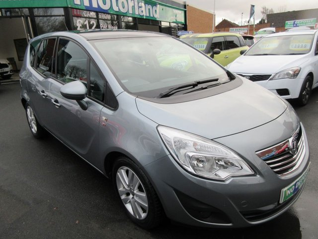 USED 2011 11 VAUXHALL MERIVA 1.4 SE 5d 98 BHP CALL 01543 379066... 12 MONTHS MOT... 6 MONTHS WARRANTY... JUST ARRIVED