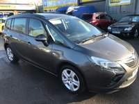 USED 2013 13 VAUXHALL ZAFIRA TOURER 1.8 EXCLUSIV 5 DOOR 138 BHP IN METALLIC GREY WITH 82000 MILES 7 SEATS   APPROVED CARS ARE PLEASED TO OFFER THIS VAUXHALL ZAFIRA TOURER 1.8 EXCLUSIV 5 DOOR 138 BHP IN METALLIC GREY WITH 82000 MILES IN GREAT CONDITION INSIDE AND OUT WITH 7 SEATS WITH A FULL SERVICE HISTORY AN IDEAL FAMILY 7 SEATER.