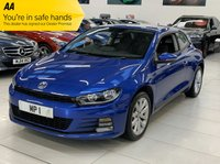 USED 2017 17 VOLKSWAGEN SCIROCCO 1.4 TSI BLUEMOTION TECHNOLOGY 2d 123 BHP