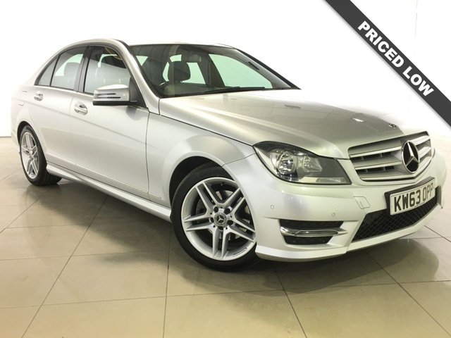 View our 2014 63 MERCEDES-BENZ C CLASS 2.1 C220 CDI AMG SPORT EDITION 4d 168 BHP