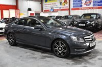 USED 2013 63 MERCEDES-BENZ C CLASS 2.1 C220 CDI BLUEEFFICIENCY AMG SPORT PLUS 2d AUTO 168 BHP