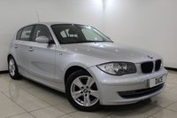 USED 2007 07 BMW 1 SERIES 2.0 118D SE 5DR 141 BHP Full Service History FULL SERVICE HISTORY + PARKING SENSOR + CRUISE CONTROL + CLIMATE CONTROL + MULTI FUNCTION WHEEL + ELECTRIC WINDOWS + 16 INCH ALLOY WHEELS