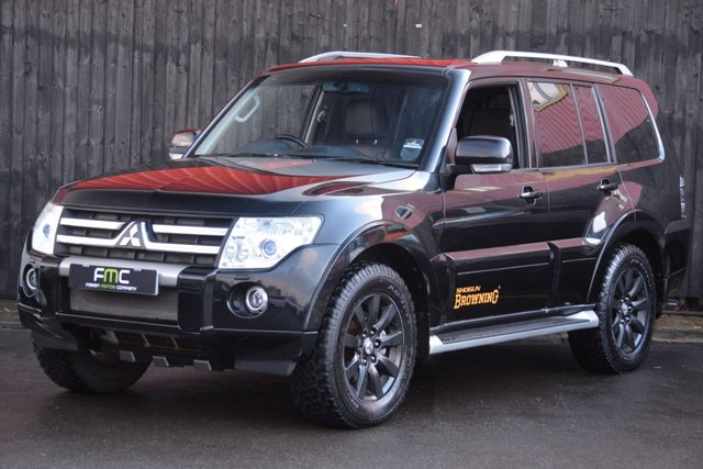 2010 60 MITSUBISHI SHOGUN 3.2 DI-D ELEGANCE 5d AUTO 197 BHP