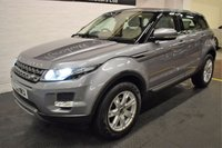 USED 2012 62 LAND ROVER RANGE ROVER EVOQUE 2.2 SD4 PURE 5d 190 BHP 4X4 STUNNING LOW MILES - FULL LEATHER - GLASS PANORAMIC ROOF - MERIDIEN SPEAKERS - 4X4 - 190BHP