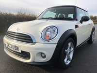 2013 MINI HATCH ONE 1.6 ONE 3d 98 BHP £5295.00