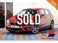 2015 BMW 2 SERIES 2.0 218D SPORT ACTIVE TOURER 5d AUTO 148 BHP £12485.00