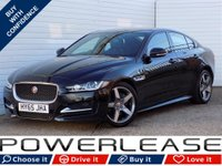 USED 2015 65 JAGUAR XE 2.0 R-SPORT 4d 178 BHP 20 POUND TAX HEATED SEATS NAV