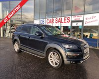 USED 2007 57 AUDI Q7 3.0 TDI QUATTRO LIMITED EDITION 5d AUTO 240 BHP NO DEPOSIT AVAILABLE, DRIVE AWAY TODAY!!