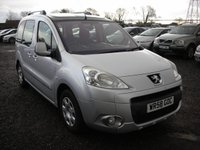 USED 2008 58 PEUGEOT PARTNER 1.6 S HDI 5d 89 BHP Panoramic roof - Service history