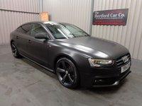 2014 AUDI A5 2.0 SPORTBACK TDI S LINE BLACK EDITION S/S 5d AUTO 175 BHP £15995.00