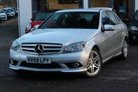 USED 2009 59 MERCEDES-BENZ C CLASS C220 2.1 CDI BLUEEFFICIENCY AMG SPORT 4d AUTO 170 BHP FULL LEATHER ** FSH ** FINANCE AVAILABLE ** PX WELCOMED **