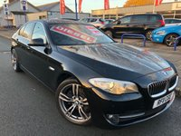 "USED 2011 11 BMW 5 SERIES 2.0 520D SE 4d AUTO 181 BHP 19"" ALLOYS + REAR PRIVACY GLASS + LEATHER"