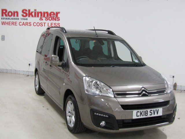 View our 2018 18 CITROEN BERLINGO MULTISPACE 1.6 BLUEHDI PLATINUM 5d 98 BHP
