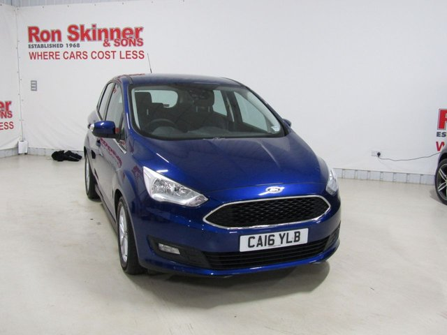 View our 2016 16 FORD C-MAX (111)    1.5 ZETEC TDCI 5d 118 BHP with rear parking sensors