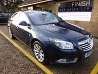 USED 2013 13 VAUXHALL INSIGNIA 2.0 ELITE CDTI ECOFLEX S/S 5d 157 BHP # £30 A YEAR ROAD TAX # FULL SERVICE HISTORY # 1 KEEPER FROM NEW # £0 DEPOSIT FINANCE AVAILABLE #